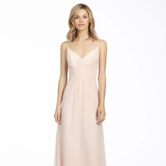 7bca192e780f Hayley Paige Dresses | Occasions 5763 Blush Bridesmaid | Poshmark